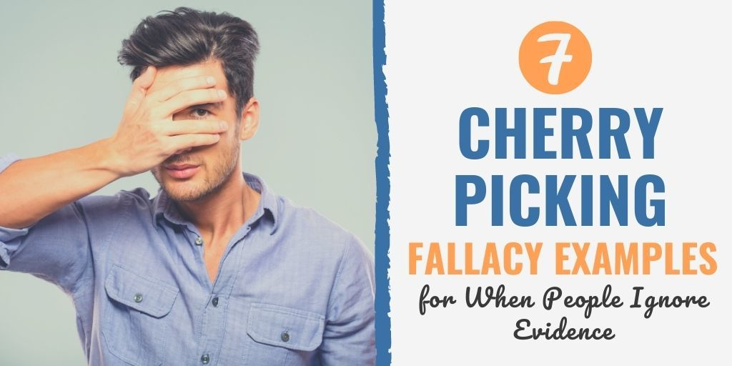 cherry picking fallacy definition | red herring fallacy | slippery slope fallacy