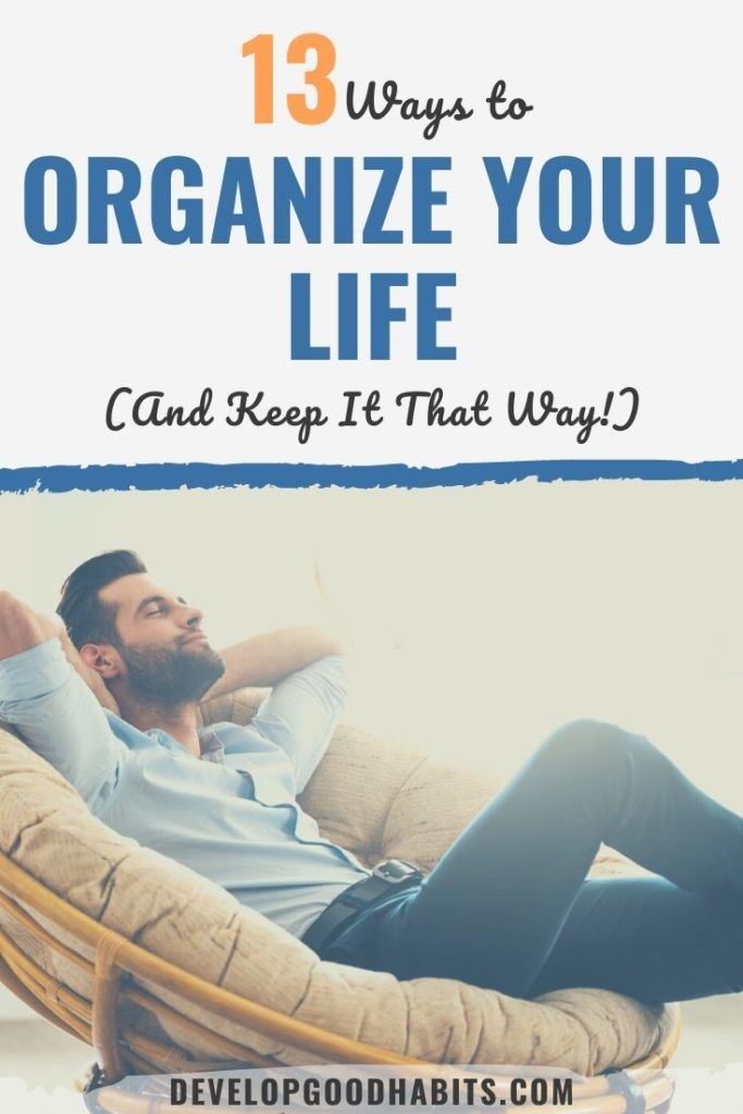 organize your life app | how to organize yourself | how to organize your life with a notebook